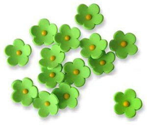 "JEM Cutters Icing Blossoms - 1"" - Green - 50 pcs"