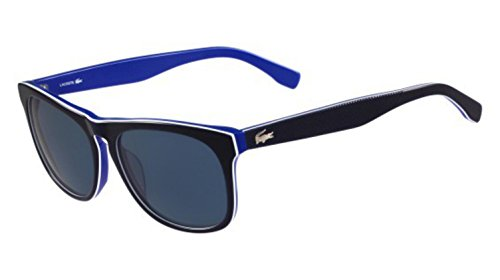 Lacoste Mens Non-Polarized UV Protection Wayfarer Sunglasses Black - Lacoste Polarized Sunglasses