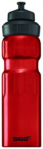 Sigg Wide Mouth Water Sports Bottle, 0.75L, Pack of 6 (Red)