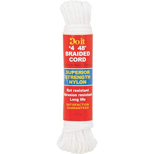 Do it Nylon Braided Rope, 1/8