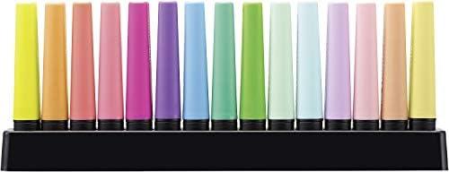 Marcador STABILO BOSS Original - Set de mesa con 9 colores fluorescentes y 6 colores pastel: Amazon.es: Oficina y papelería