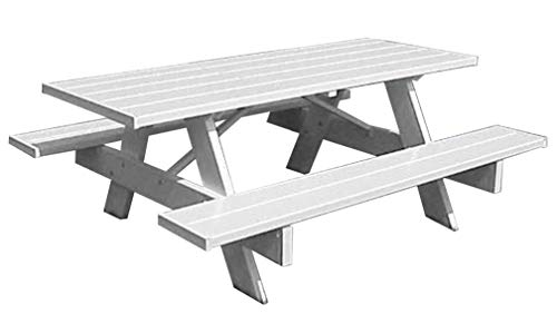 PVC Picnic Table 6ft