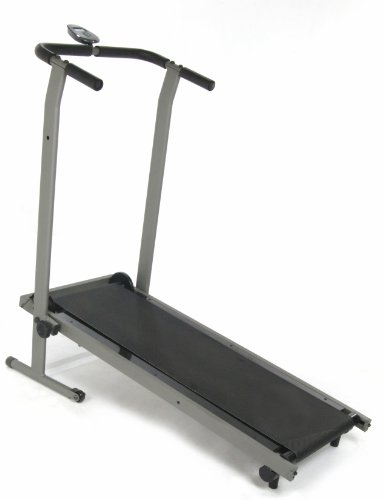 Stamina InMotion Manual Treadmill (Pewter Grey, Black) Motion Fitness Treadmill