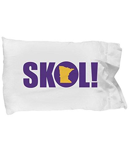Social Karma Marketing SKOL! Minnesota Vikings Cheer Pillow Case