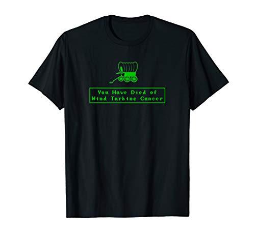 Funny Wind Turbine Cancer T-shirt Windmill Wind Farm Tee