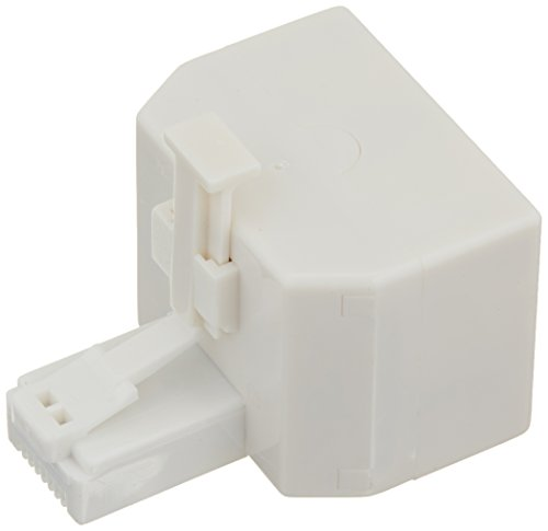 Cables To Go 01938 RJ45 8-pin Modular T-Adapter (White)