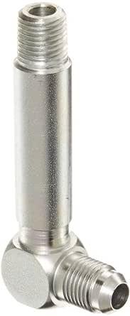 1//8 Male Pipe Size x 1//8 NPT JIC 37 Degree /& NPT End Types 1//4 JIC Carbon Steel 1//4 Tube OD Eaton Aeroquip 2023-2-4S 45 Degree Male Elbow m End Size m