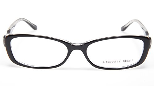NEW GEOFFREY BEENE G302 BLK BLACK EYEGLASSES GLASSES WOMEN FRAME 52-15-135 B29mm (Geoffrey Beene Glasses)