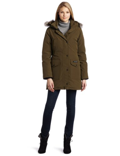 Canada Goose Women's Trillium Parka,Military - Goose Expedition Canada Parka Women