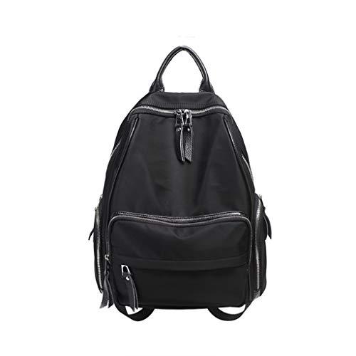 tracolla femminile colore moda Borsa a in da nero tessuto Oxford viaggio qWRZnn7t