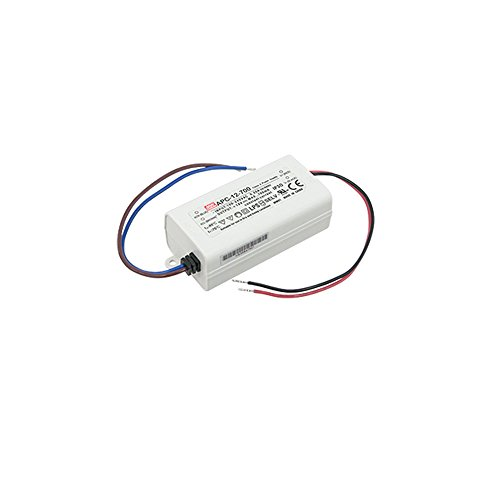 American Lighting LED-DR12-700 LED Constant Current Hardwire Driver (700mA), Class 2, 3-12 Watts, ()