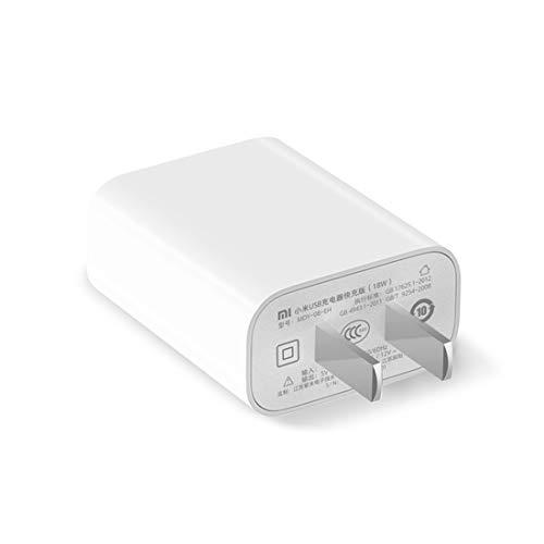 Xiaomi Cargador Xiami 18W - Original 18W Wall Charger Adapter Single Port USB Quick Charge, US Plug