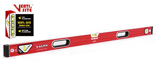 Goldblatt 48in. Double View Vertical Site I-box Spirit (Double Spirit Level)