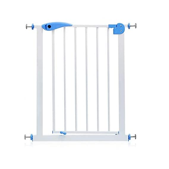 Kiddale Baby Safety Gate Extendable Upto 75cm -Portable to Prevent Babies and Pets to Access Restricted Areas with