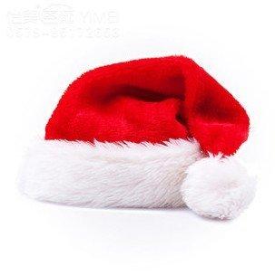 サンタ帽子 コスチューム用小物 赤 男女共用 フリーサイズ