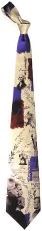 Men's 100% Silk Patriotic Pledge of Allegiance Tie Necktie Neckwear