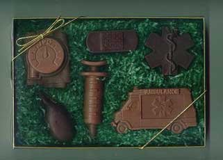 Chocolate Paramedic Kit Gift Set - 6 pc.