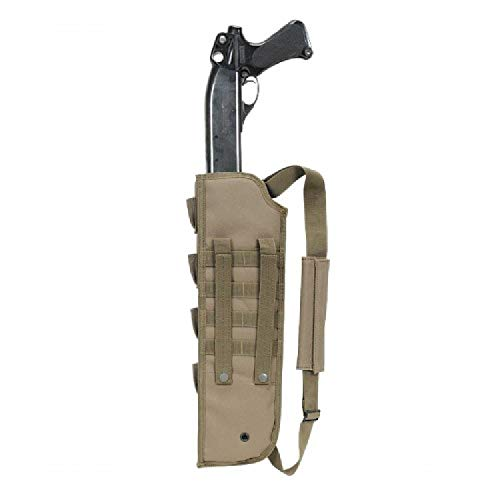 VooDoo Tactical Men's Breacher's Shotgun Scabbard, Coyote
