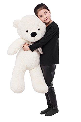 Stuffed Animal Teddy Bear Plush Soft Toy 100CM Huge Soft Toy White - 4