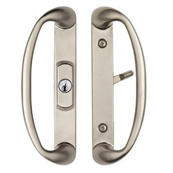 Center Position Keylocking Sonoma Sliding Door Handle in Brushed ...