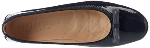 Hispanitas HV74979, Zapatos de Cuña Mujer Azul (Kaffir-V7 Jeans)