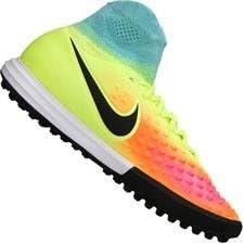 Nike Kids MagistaX Proximo Turf Volt/Black/Total Orange Shoes
