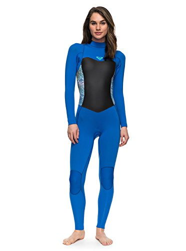 Roxy Womens Roxy 3/2Mm Syncro Series - Back Zip Gbs Wetsuit - Women - 6 - Blue Sea Blue Ii - Wetsuits Good
