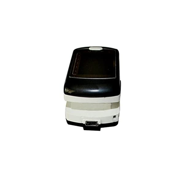 BLYL Monitor de Saturación de Oxígeno CMS-50E y Medición de la Frecuencia Cardíaca con Pantalla OLED a Todo Color para… 4
