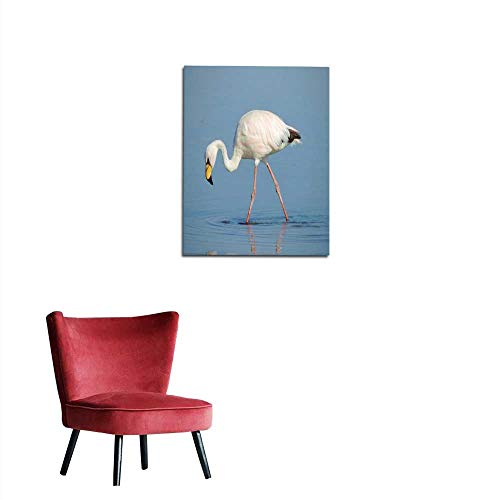longbuyer Art Decor Decals Stickers James s Flamingo in Chile Mural ()
