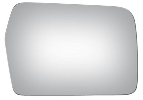 1984 - 1989 Toyota Van Wagon Passenger/Right Side Replacement Mirror Glass W/O Backing ()