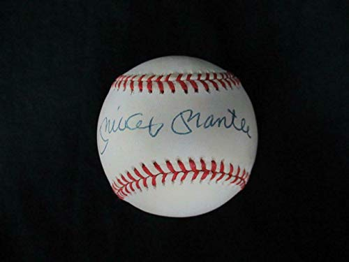 Mickey Mantle Signed Baseball Autograph Auto G61626 - PSA/DNA Certified - Autographed ()