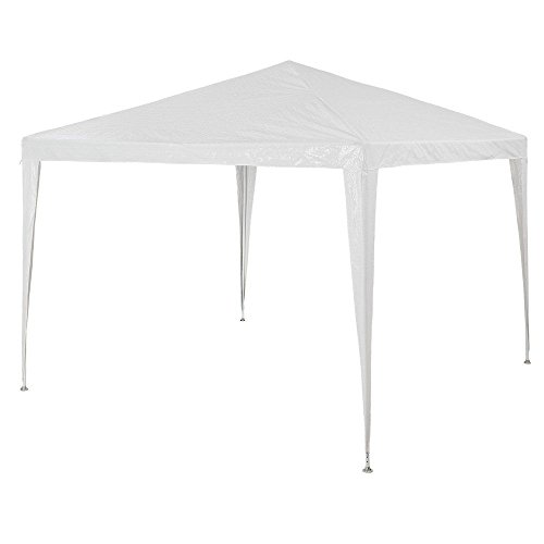 Tangkula 10'x10′ Gazebo Pavilion Cater Canopy Wedding Party Tent Outdoor