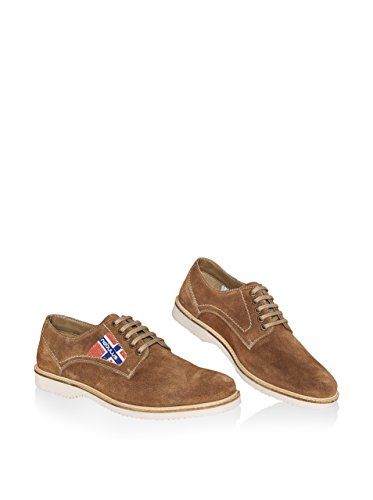 NEBULUS Cordones MERANO, Zapatos piel (T156) Brandy
