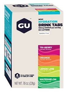 GU Hydration Drink Tabs, Mixed, 4 Count