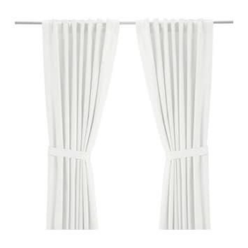 Ikea Gardine ikea 2 er set gardinen ritva gardinenschals mit raffhaltern je