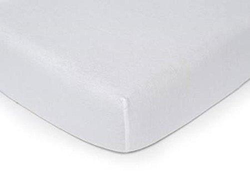 Kids Line Jersey Knit Bassinet Sheet, White