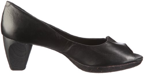Marc Shoes Tavera 1.455.02-10/100 - Zapatos de vestir de cuero para mujer Negro (Schwarz (Black))