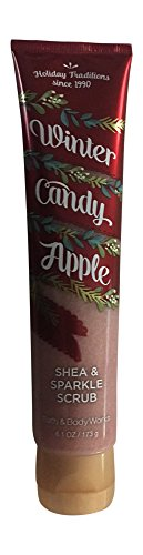 Bath & Body Works Shea & Sparkle Scrub Winter Candy Apple