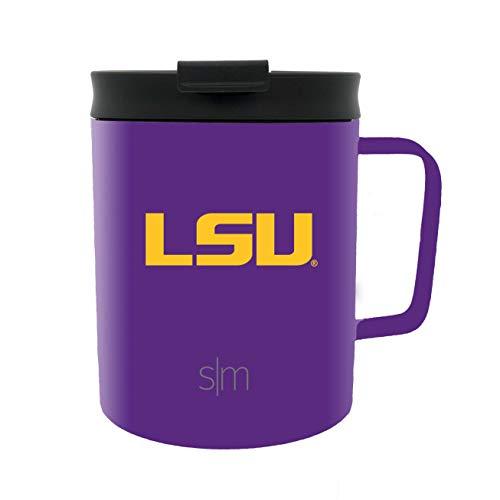 Lsu Tigers Beverage - Simple Modern 12oz Scout Travel Mug LSU
