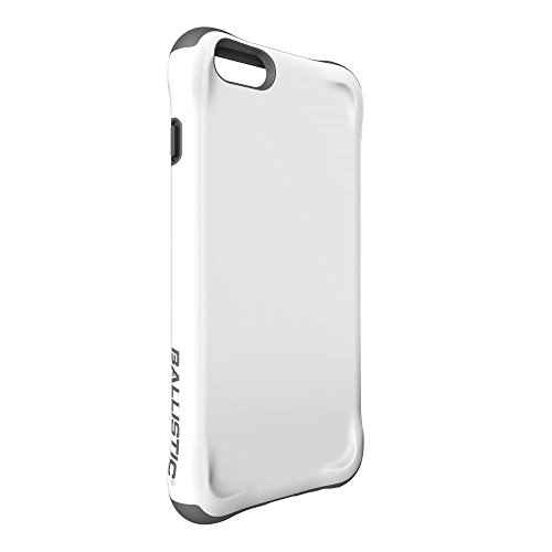 Ballistic, iPhone 6 Plus / 6s Plus Case [Urbanite] Six-Sided - 6ft Drop Test Certified Case [White/Gray] Reinforced Bumper Cell Phone Case for iPhone 6 Plus / 6s Plus - White/Gray