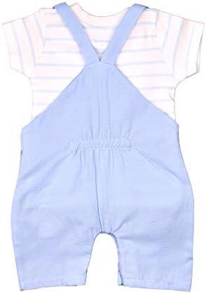 Color Azul mymio Conjunto de Peto Corto para beb/é