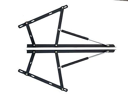 Magnificent Premium Metal Lift Up Hinge Mechanism Kit 2X Gas Hydraulic Struts 500N 600N 800N 1000N Or 1200N Heavy Duty Ottoman Storage Bed Large Lifter Uwap Interior Chair Design Uwaporg
