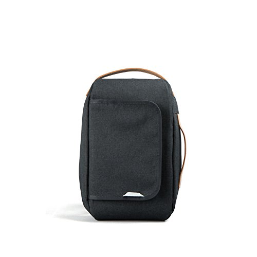 Rawrow Fashion School Backpack Bookbag R Bag 206 Wax Haze (Black)