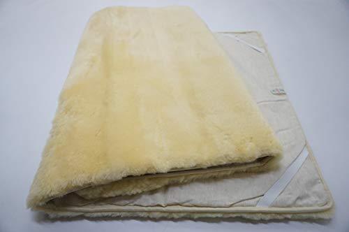 MILABERT Genuine Medical Rectangular Sheepskin Bed pad Underlay Mattress - Pressure Relief - Premium Quality by MILABERT (Image #5)