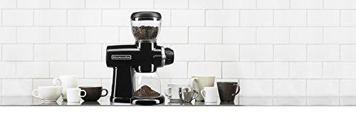 KitchenAid KCG0702OB Burr Coffee Grinder, Onyx Black