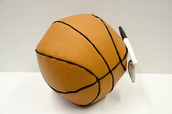 Bunk Junk Basket Ball Autograph Pillow for Sleep Away Camp, Birthdays, Parties and Family Events by Bunk Junk