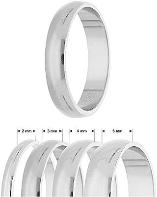925 Sterling Silber 5mm D-form Herren/damen Trauring Verkaufspreis Trauringe