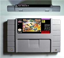 Super Bomberman 4 - Action Game Cartridge US Version - Game Card For Sega Mega Drive For Genesis