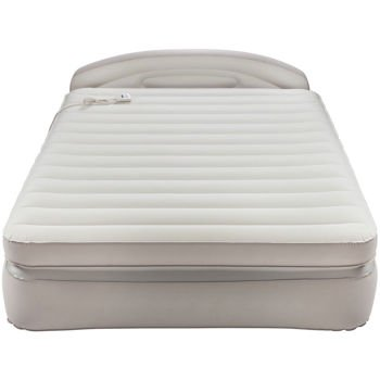 AeroBed Opti-Comfort Queen Air Mattress With Headboard