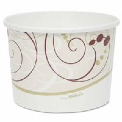SEPTLS670P4643 - Solo Flexstyle Double Sided Poly Paper Food Containers - P4643 by Unknown